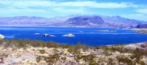 Lake Meade - example of Las Vegas Nevada vacation rentals